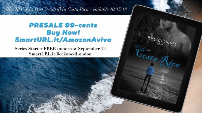 cfc632b5946c0 I am so ridiculously excited to post this cover reveal and pre-sale for  Beckoned, Adrift in Costa Rica! Oh, and did I mention Book 1, Beckoned, ...